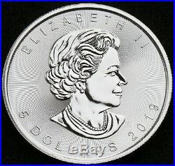 TUB25x SD 25 x 1 oz 2019 Silver Canadian Maple Silver Bullion Coins FULL TUBE