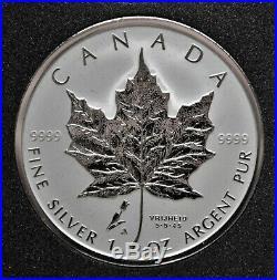 Tulip Privy Mark 2005 Canada 1 oz. Silver Maple Leaf
