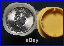 Twenty Five (25) 2014 Silver Maple Leaf Coins 1 Oz Bullion (25 Oz) Lot C29